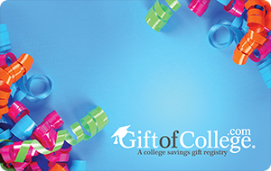 Meaningful gifts for kids: 529 fund donation toward college from Gift of College