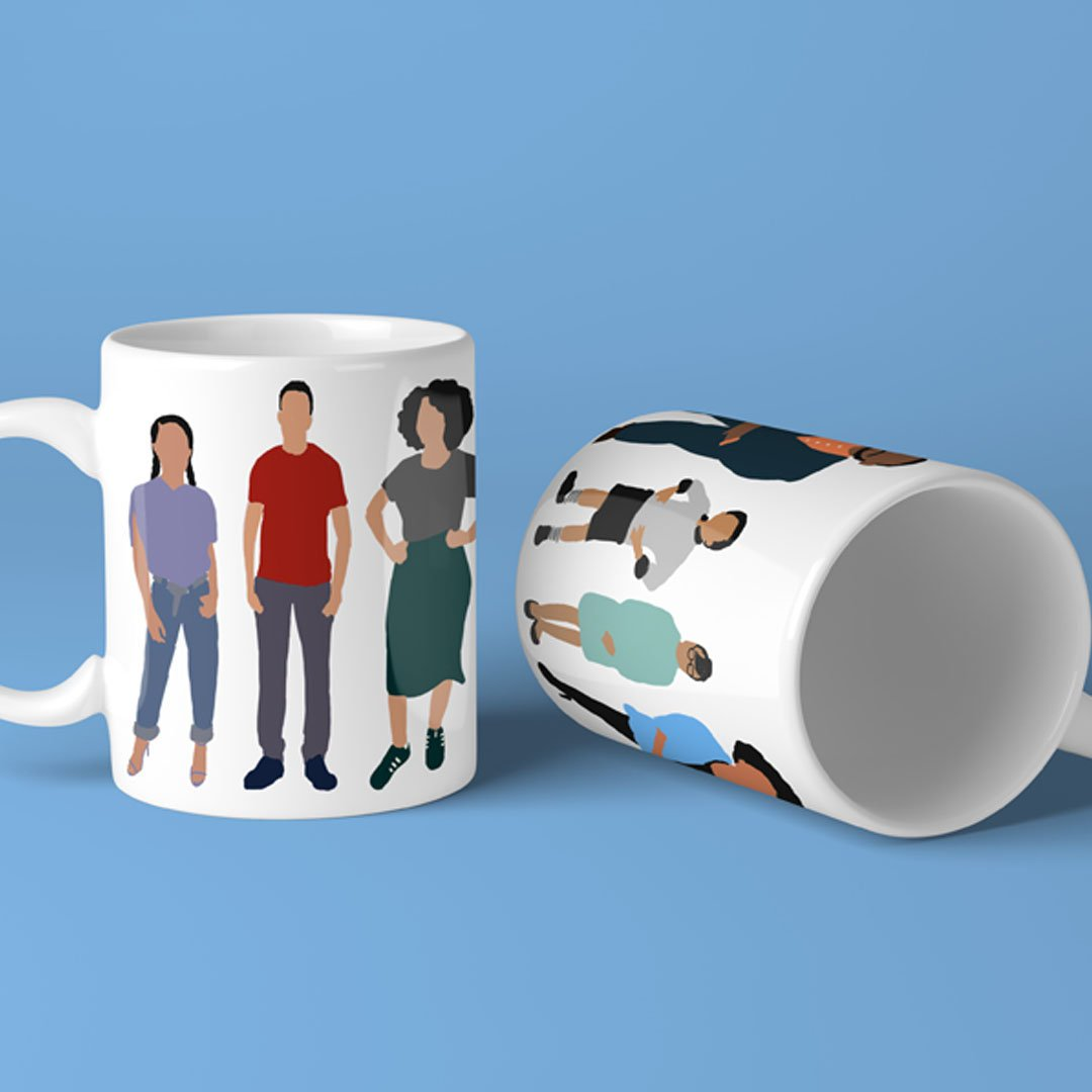 Cool affordable gifts under $15: Blackish mug via That Trini Gee