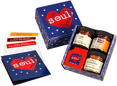 Cool gifts under $15: Mini SOUL spice gift box from Penzey's