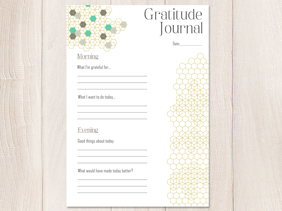 photo about Journal Pages Printable called Produce positivity with this sort of 5 printable graude magazine