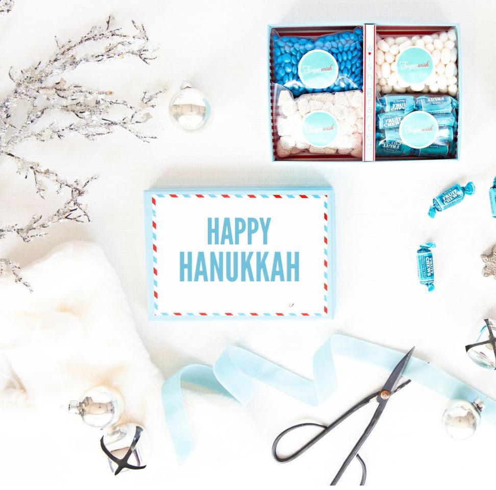 Hanukkah SugarWish box lets kids create their own gift boxes