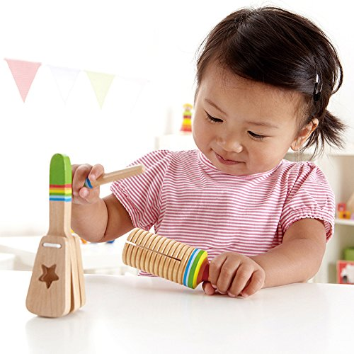 Kids gifts under $15: Hape wooden instrument set