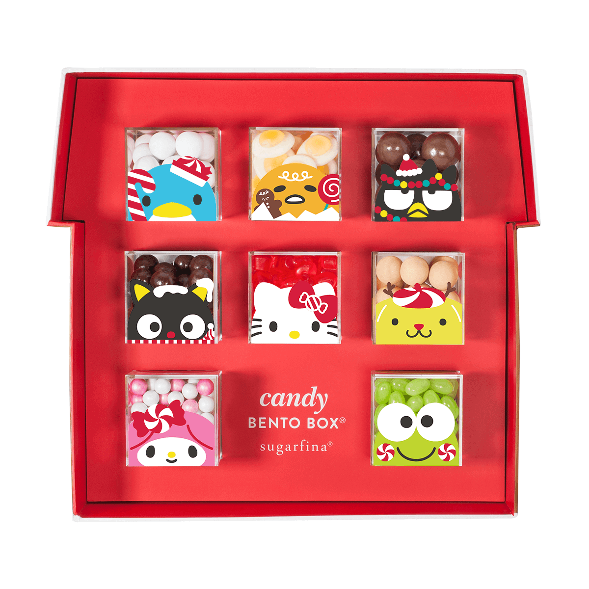 Cool gift ideas for tween girls: Hello Kitty Candy Bento from Sugarfina