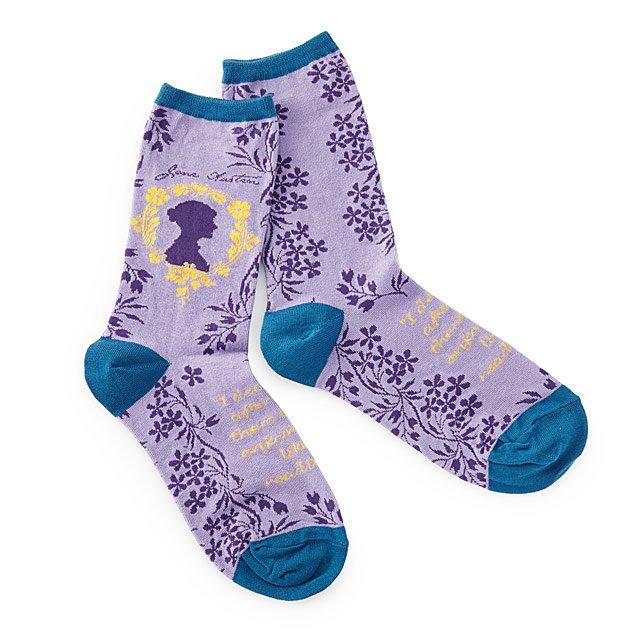 Cool affordable gifts under $15: Jane Austen socks