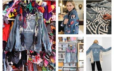 Support an amazing cause when you bid on these one-of-a-kind jean jackets from some of our favorite artists