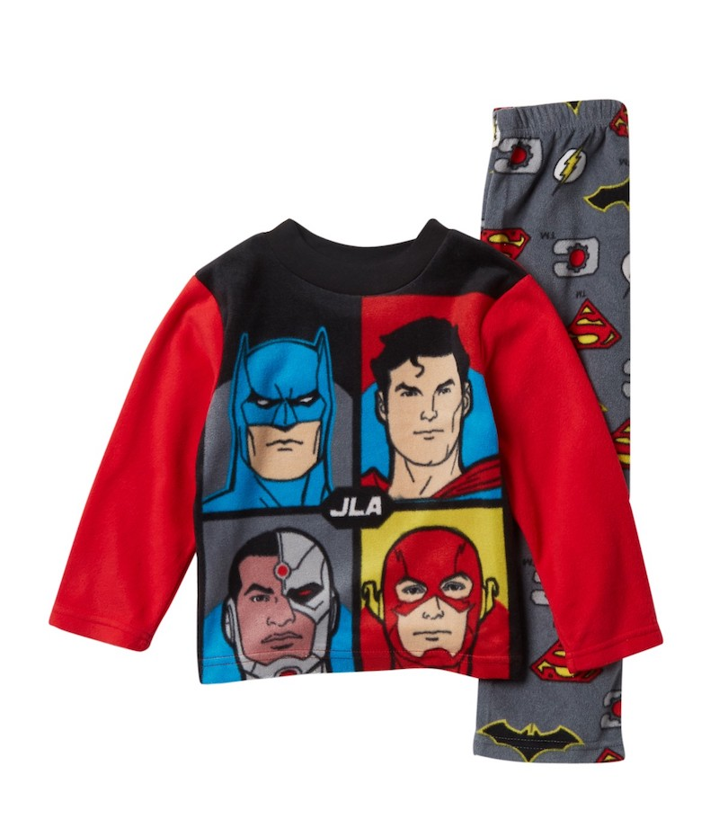 Kids gifts under $15: DC Justice League Pajama Set