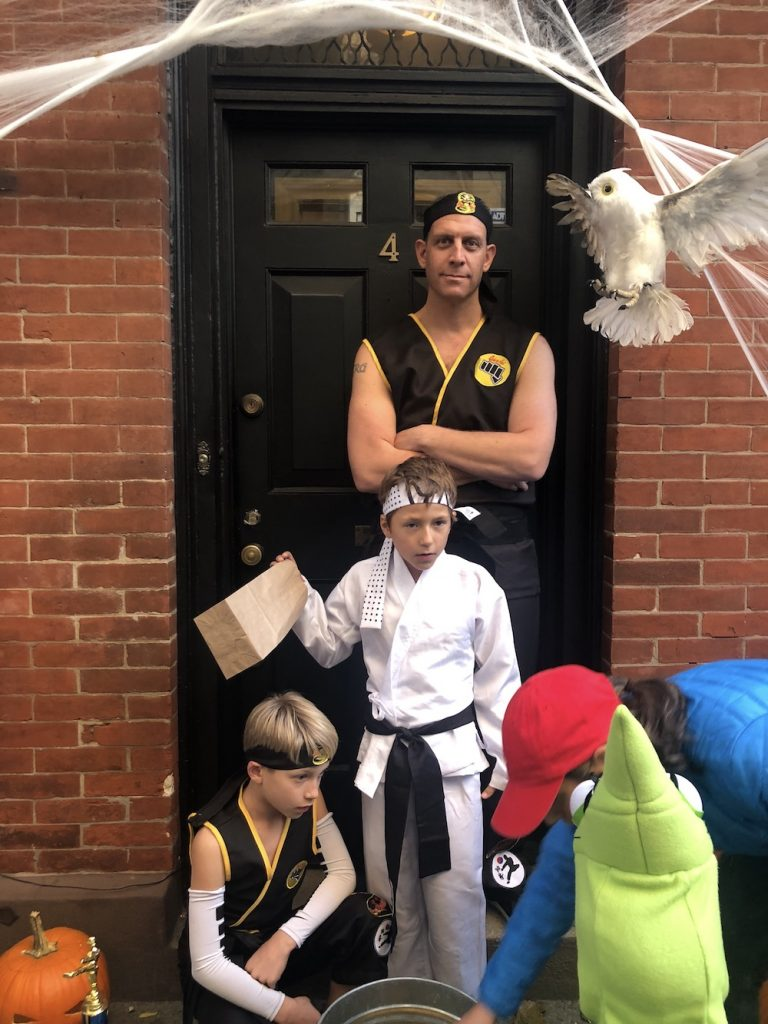 Best Garden Place, Brooklyn Halloween costumes 2018: Karate Kid Dojo | © Cool Mom Picks