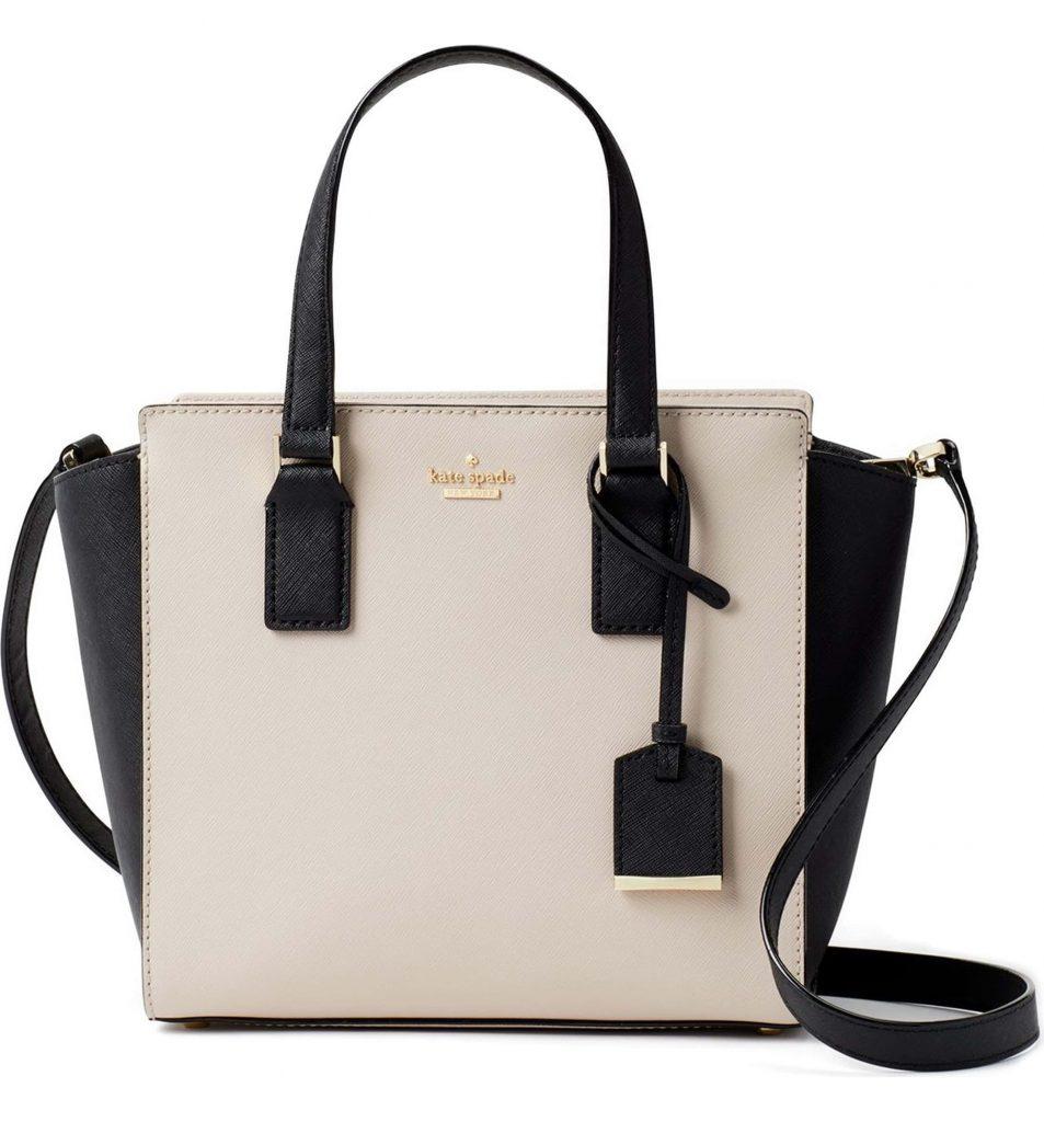 Kate Spade Cameron leather satchel on sale