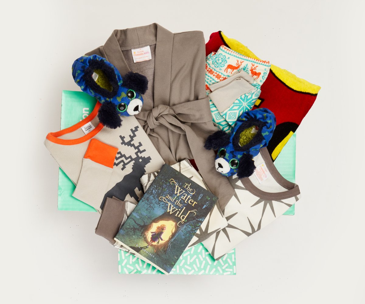 Meaningful gifts for kids: The Kidbox Dream Box of PJs gives back to kids in need