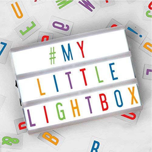 Cool gift ideas for tween girls: LED Lightbox