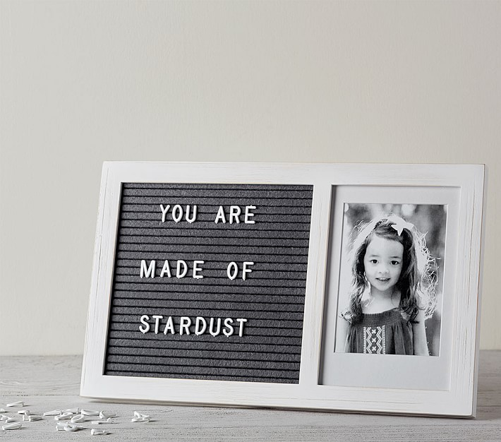 Creative personalized gifts: Letterboard frame