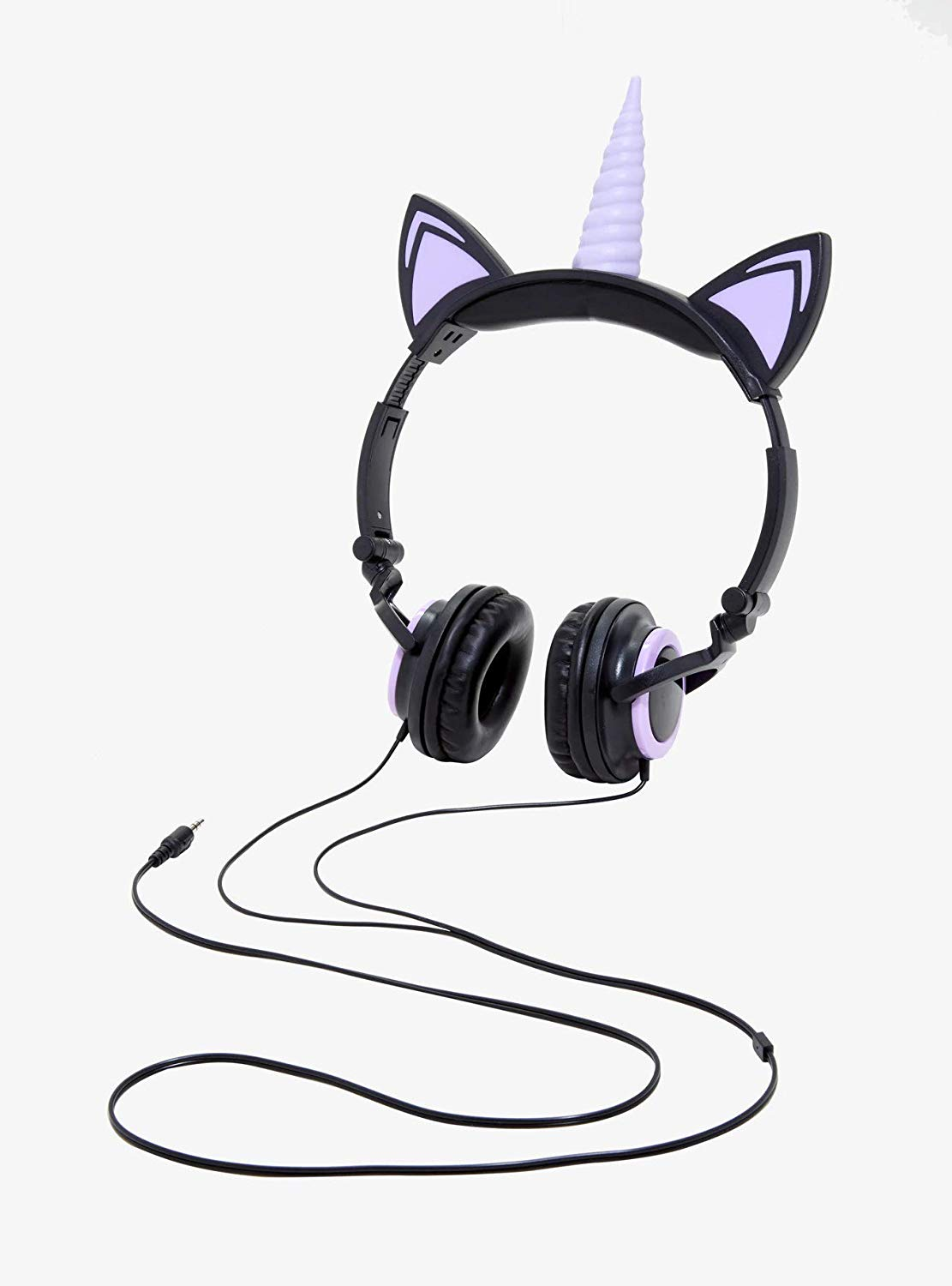 Cool gifts for tween girls: Unicorn headphones that light-up too!