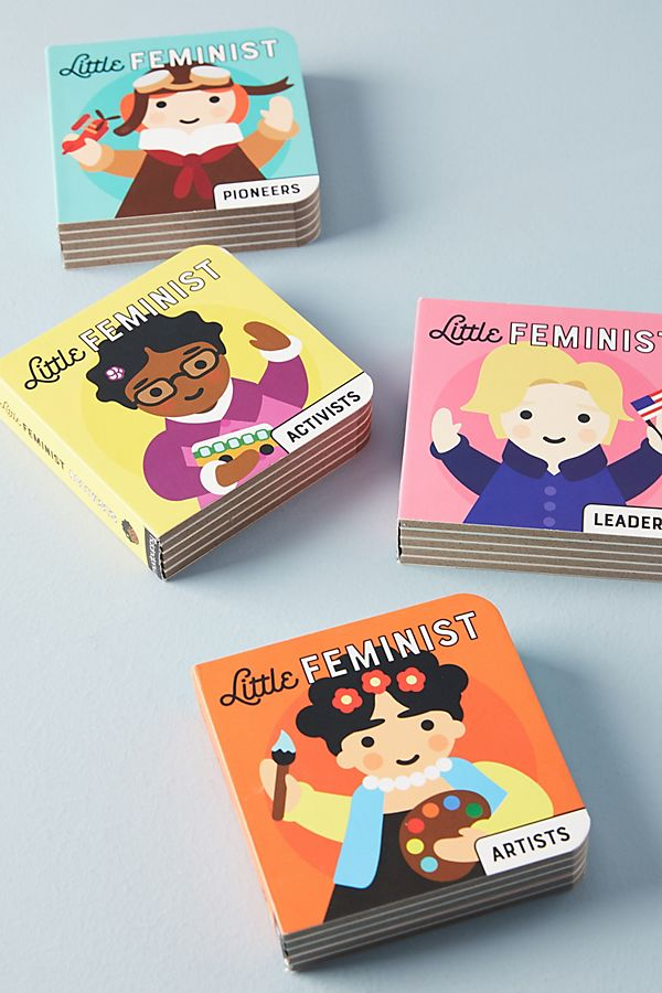 Cool kids' gifts under $15: Little Feminist book set
