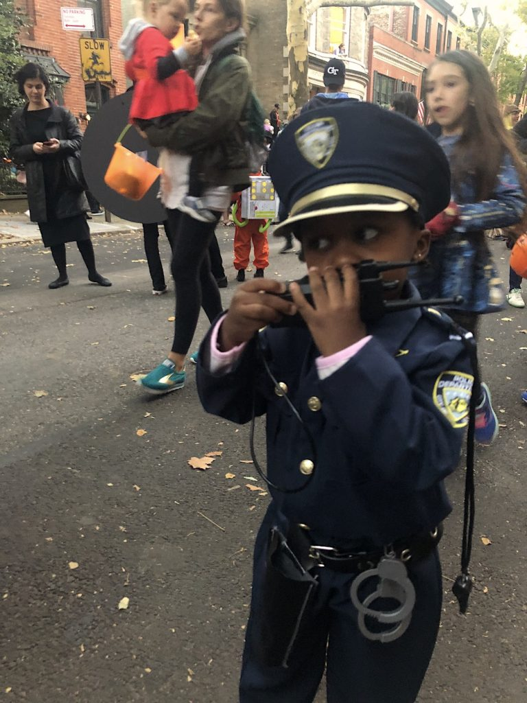 Best Garden Place, Brooklyn Halloween costumes 2018: Future Police Woman| © Cool Mom Picks
