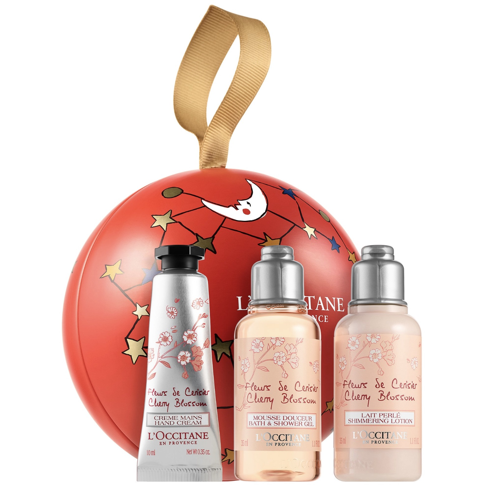 L'Occitane ornament holiday gift set: Cool gifts under $15