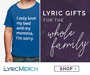 Lyric Merch