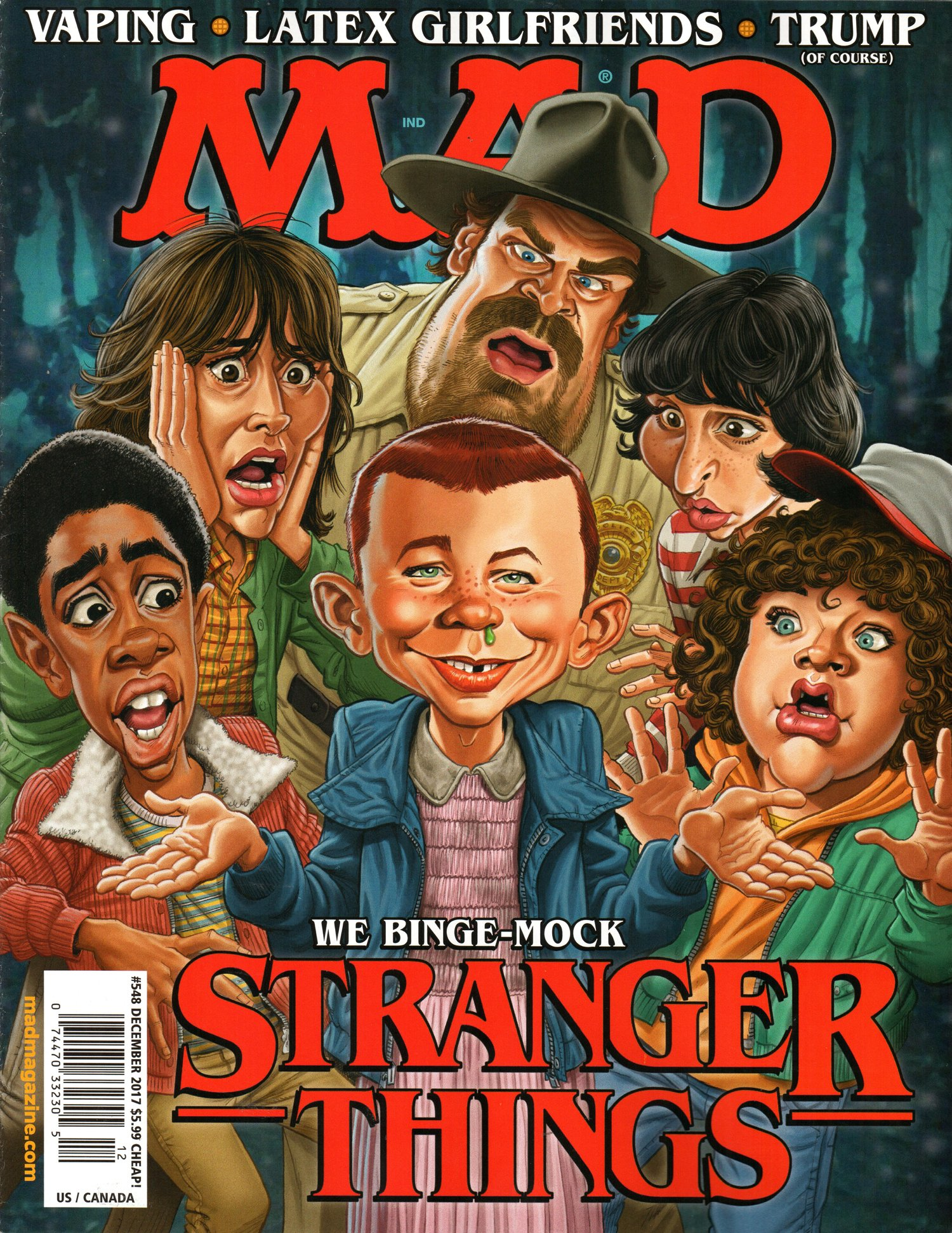 Cool gift ideas for tween girls:  A MAD magazine subscription