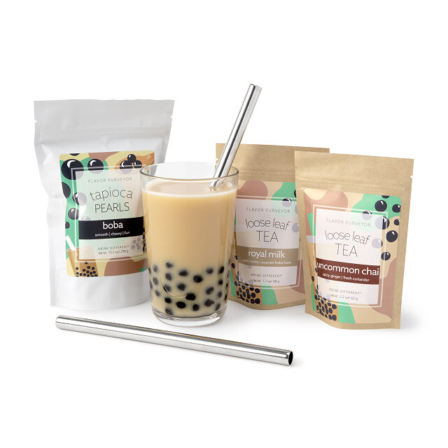 10 best gifts for teens : Make your own bubble tea kit | Small Business Holiday Gifts 2020