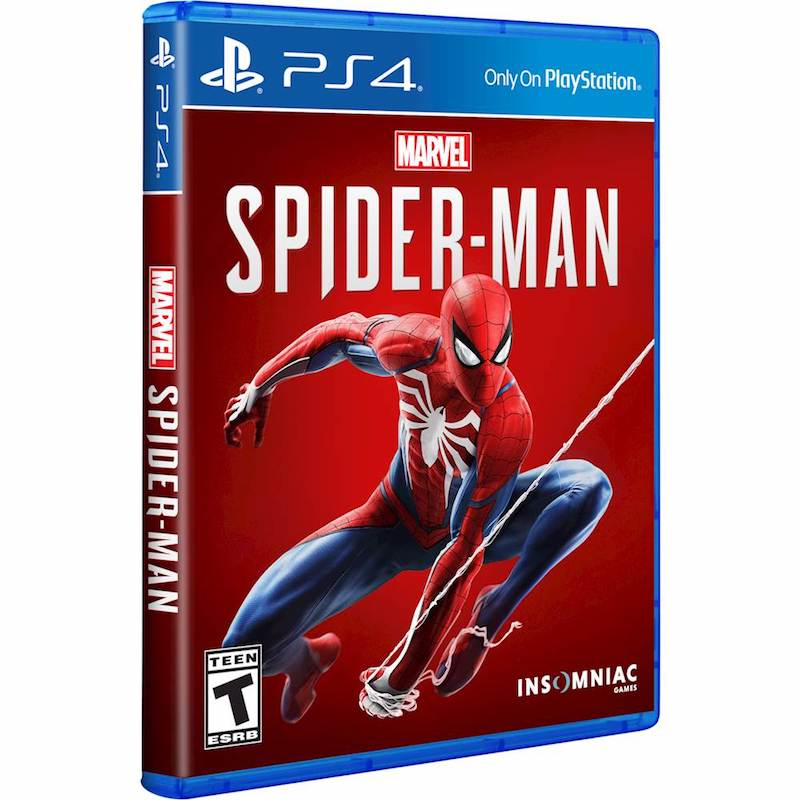 Cool gifts for tween boys (and girls): Marvel Spiderman for rPS4