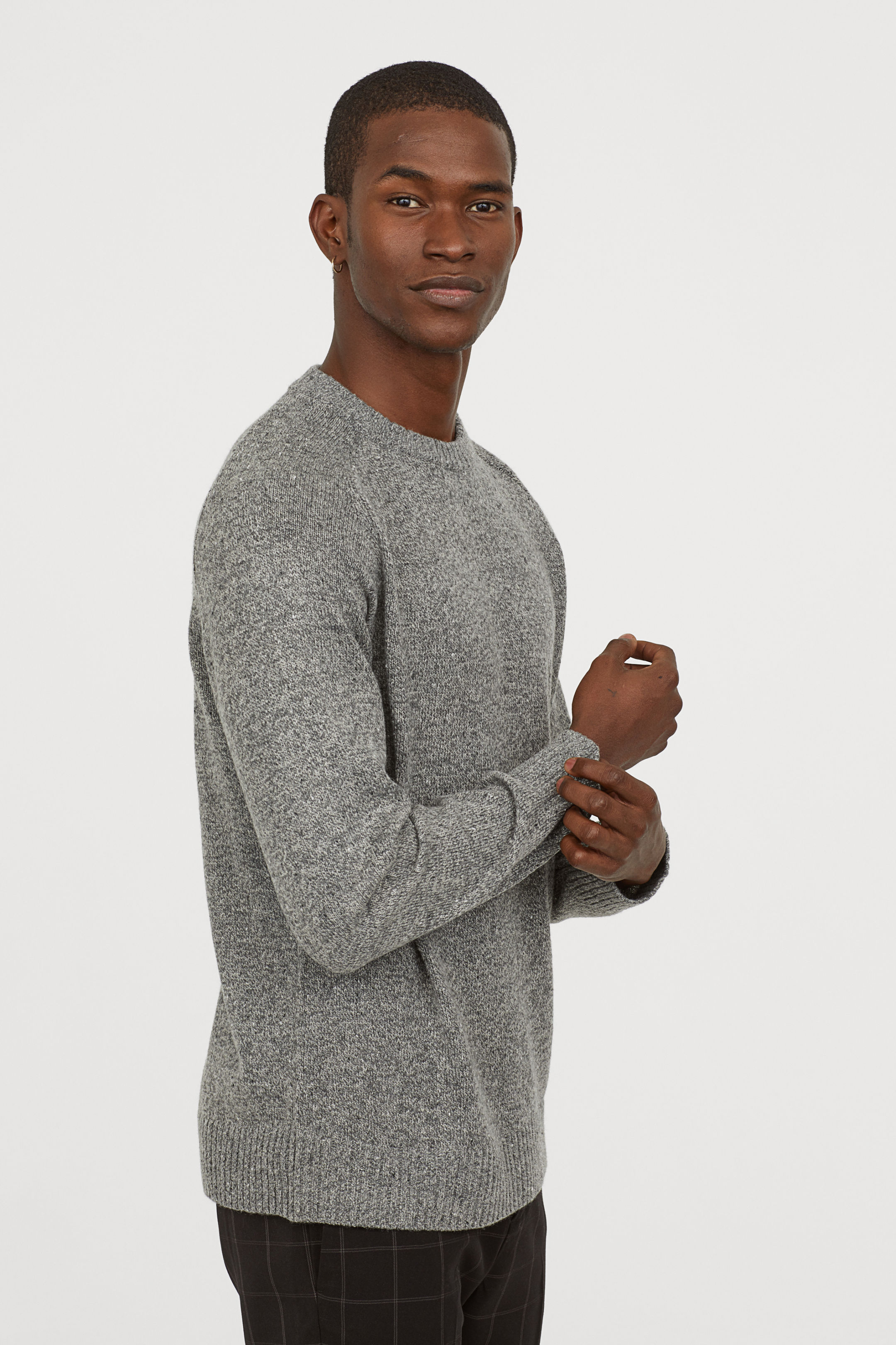 Cool affordable gifts under $15:  Men's fine-knit sweater at H&M