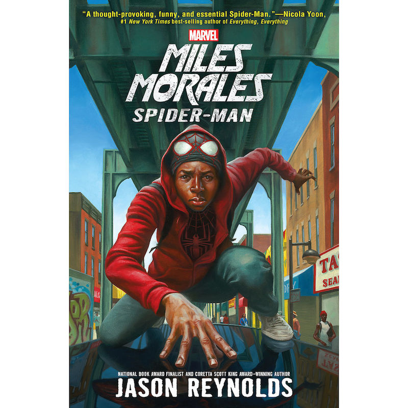 Cool kids' gifts under $15:  Miles Morales: Spiderman YA novel