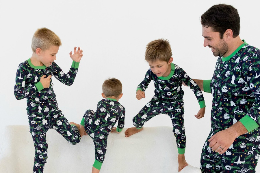 A few adorable, modern Christmas pajamas for kids for a picture-perfect Christmas morning
