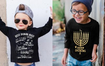 Our favorite multi-denominational kids' holiday tees for a happy Hanukkah, merry Christmas, and joyous everything