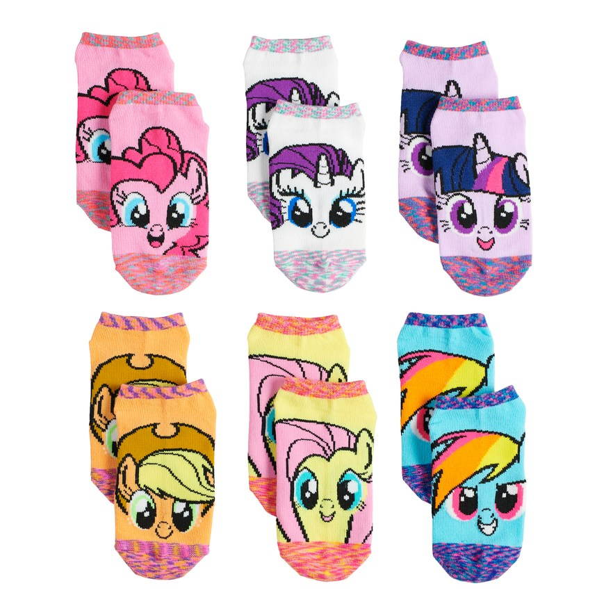 Kids gifts under $15: My Little Pony 6-pair sock set