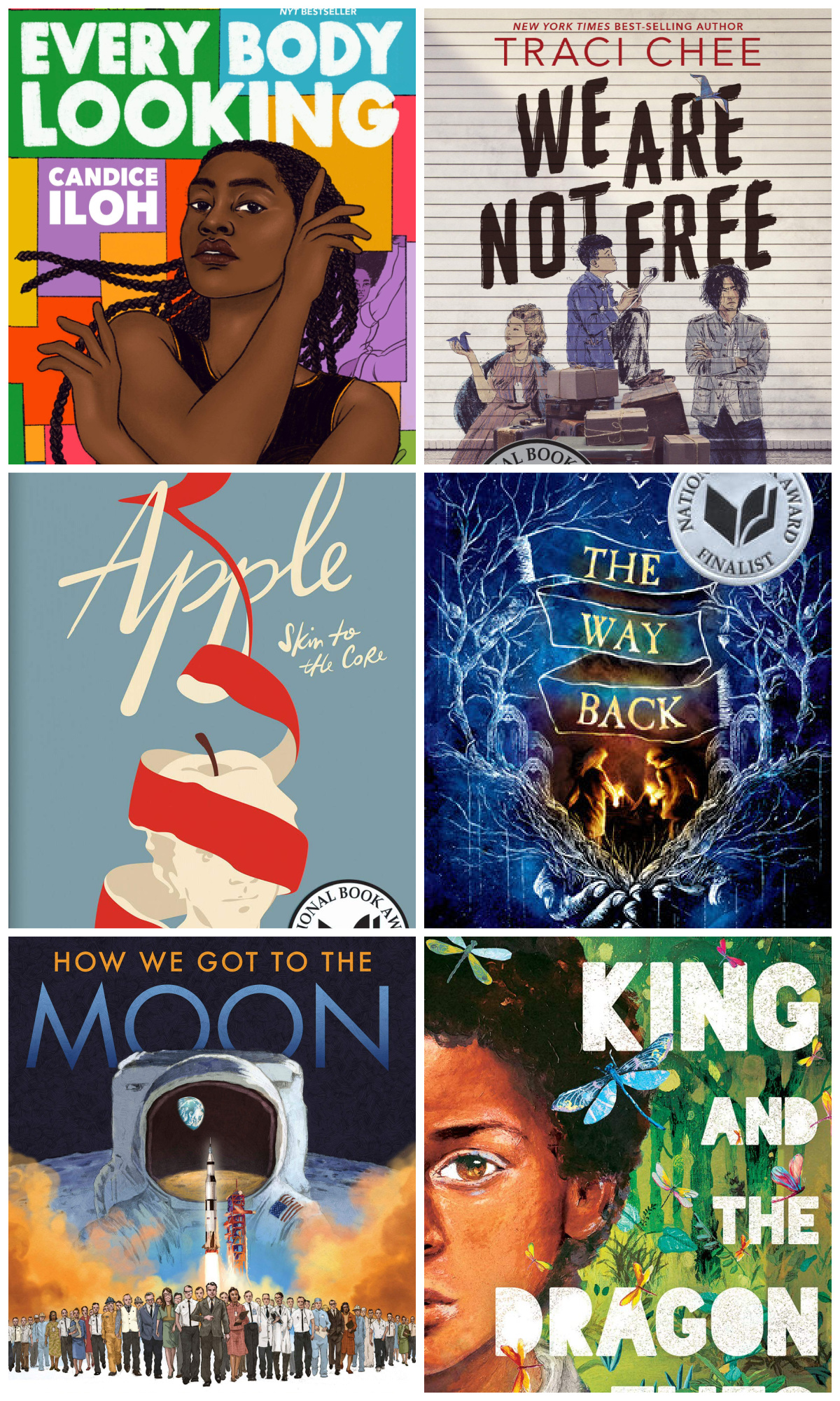 10 best gifts for teens : National Book Award Finalists in Young People's Literature | Small Business Holiday Gifts 2020