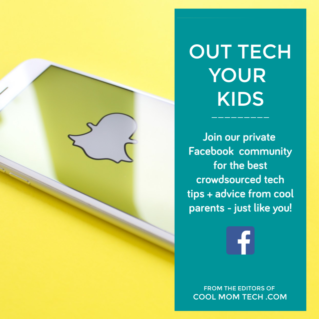 Out Tech Your Kids: The private Facebook group for Cool Mom Tech readers