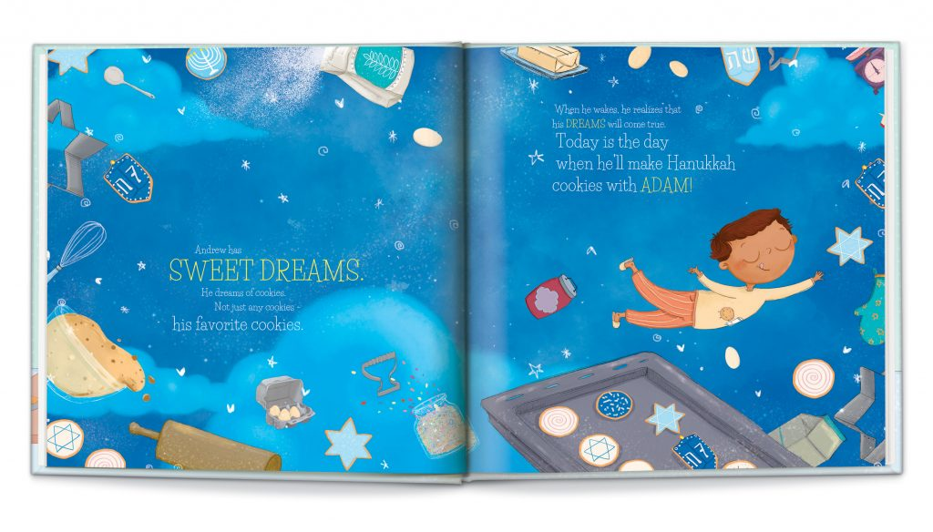 Cool Hanukkah gifts for kids: Personalized Hanukkah Storybookfrom I See Me