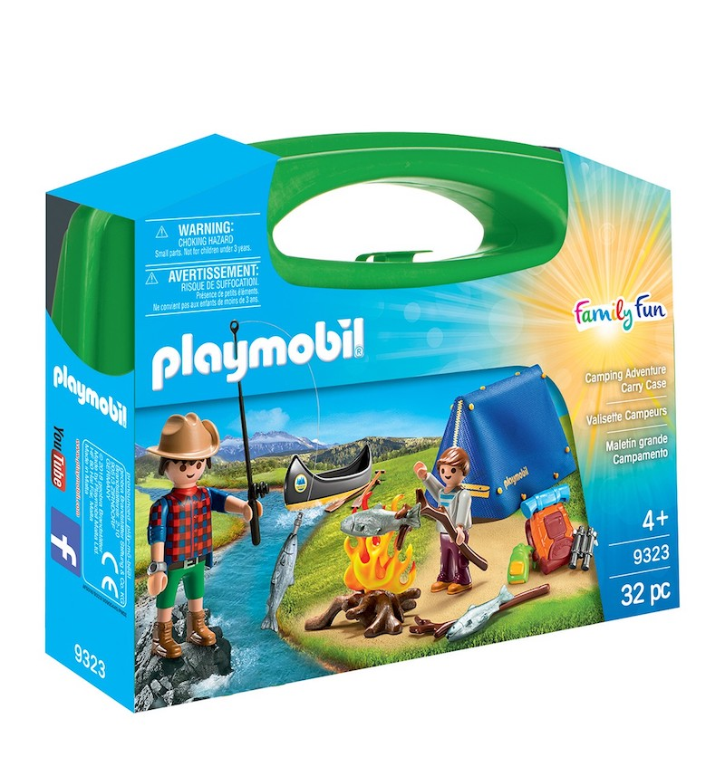 Cool kids' gifts under $15:  Playmobil carry sets