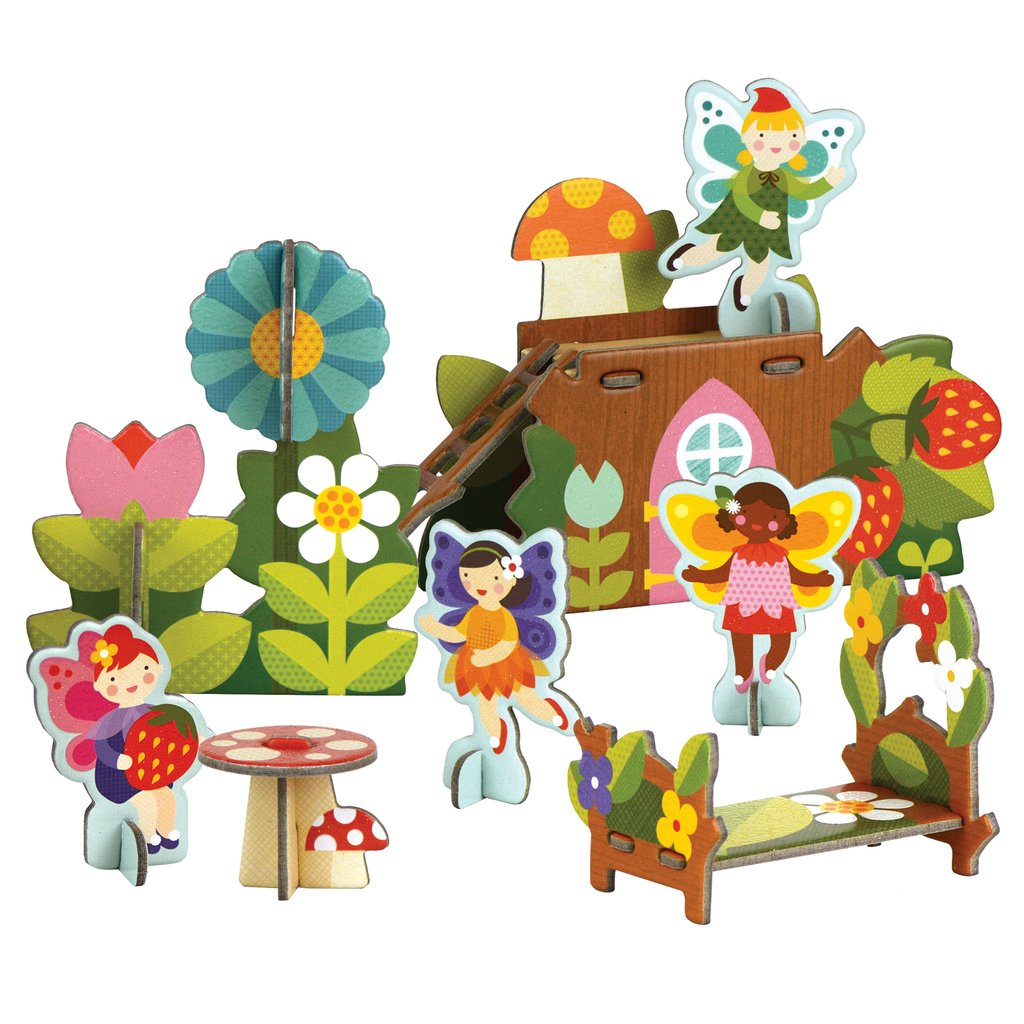 Cool gifts under $15 for kids: Fairies playset from Petit Collage