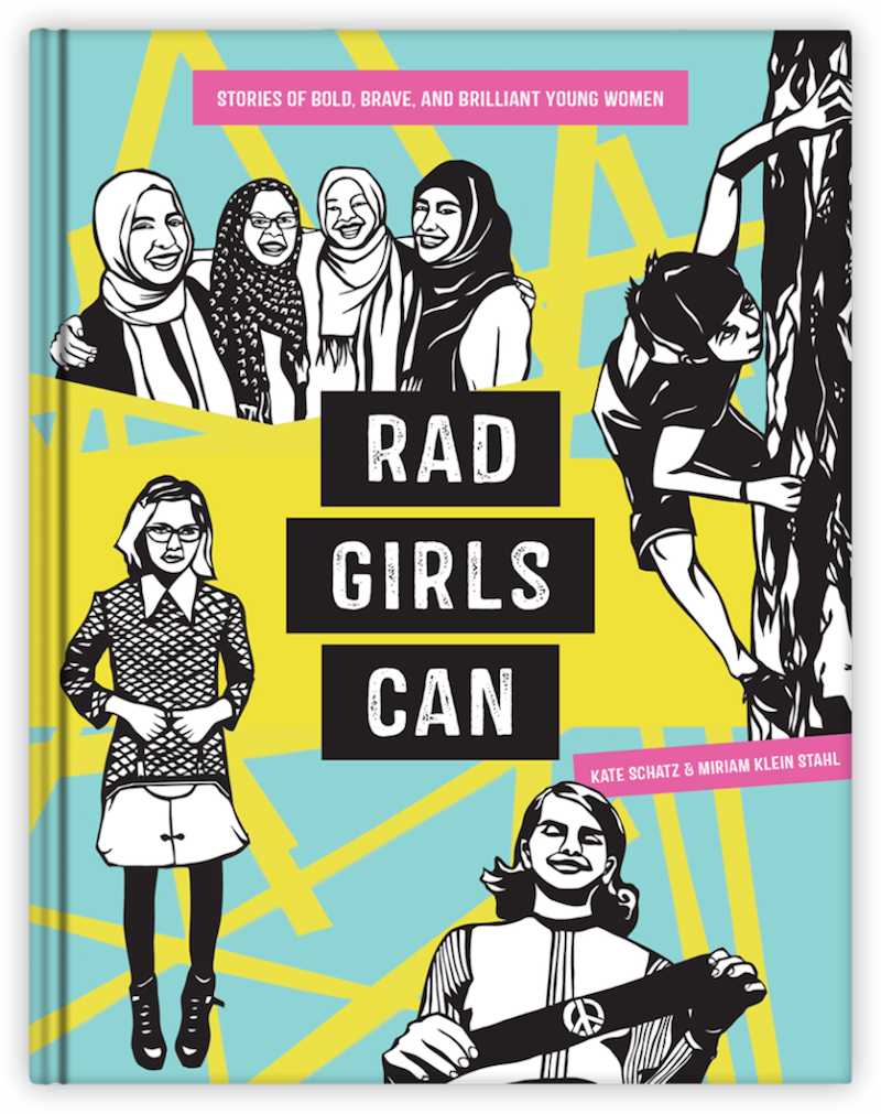 Cool kids' gifts under $15: Rad Girls Can book by Kate Schatz