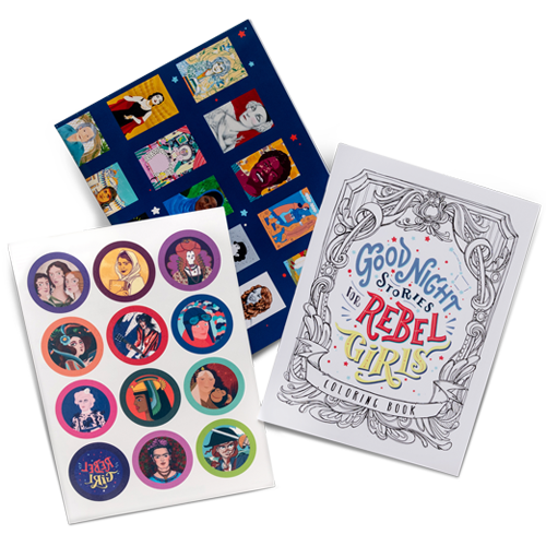 Goodnight Stories for Rebel Girls activity kit: cool gifts for kids under $15