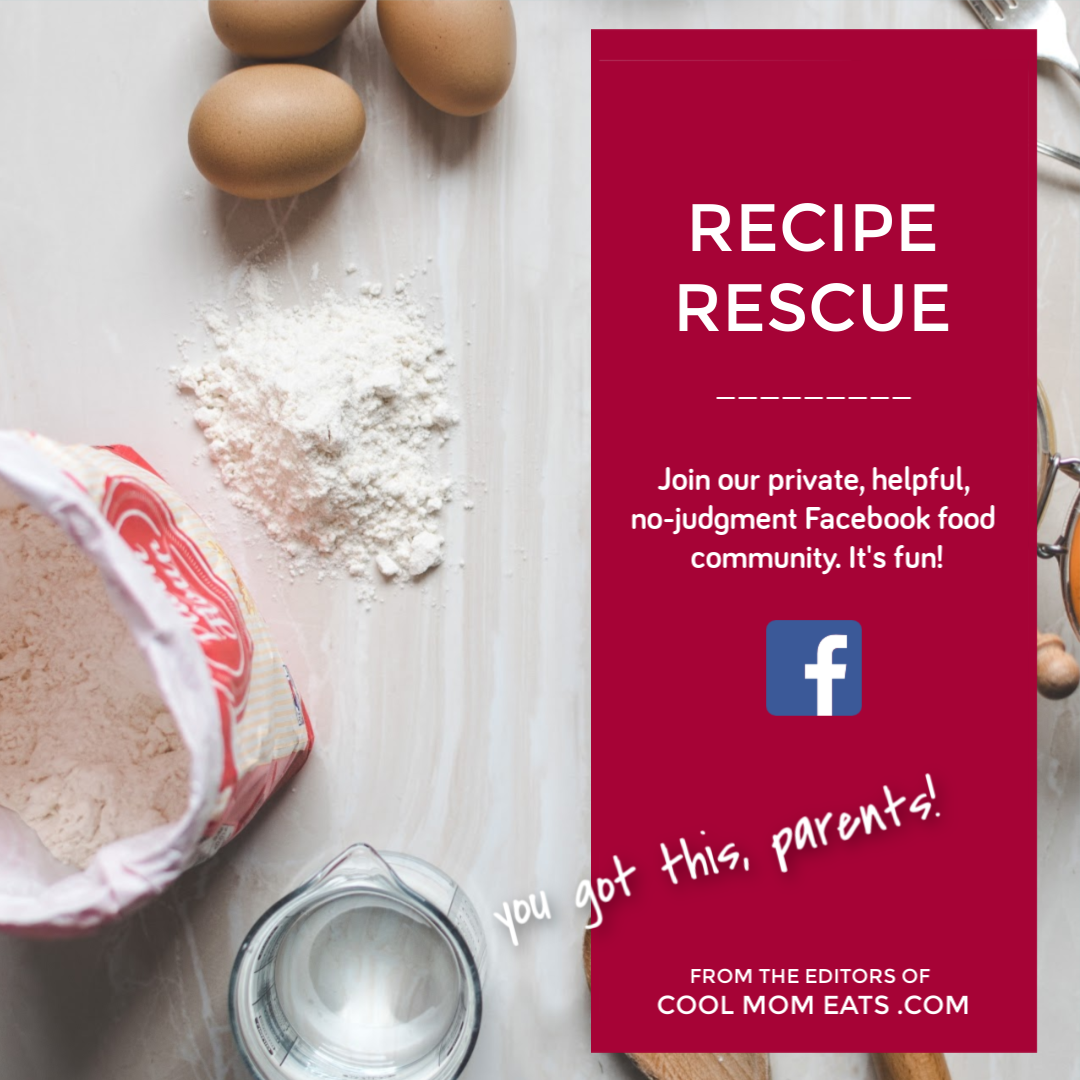 Recipe Rescue: The helpful Facebook food community from Cool Mom Eats