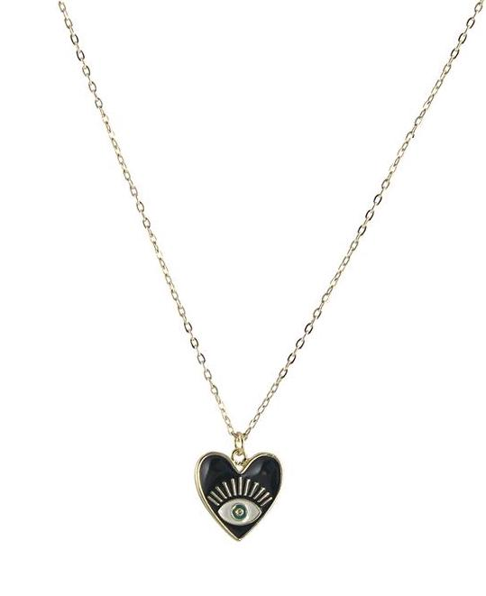 10 best gifts for teens : Seeing eye heart necklace from Peggy Li | Small Business Holiday Gifts 2020