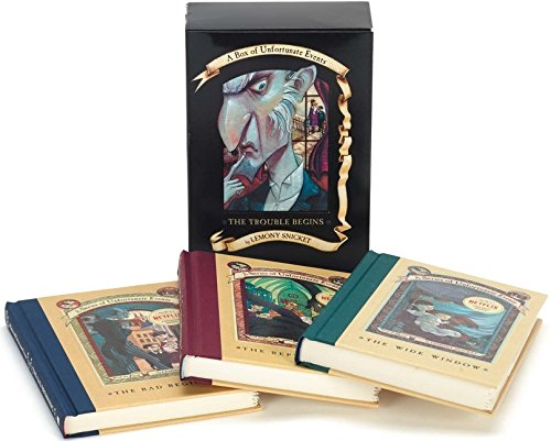 Cool gifts for tween boys (and girls): A Series of Unfortunate Events box set, vols 1-3
