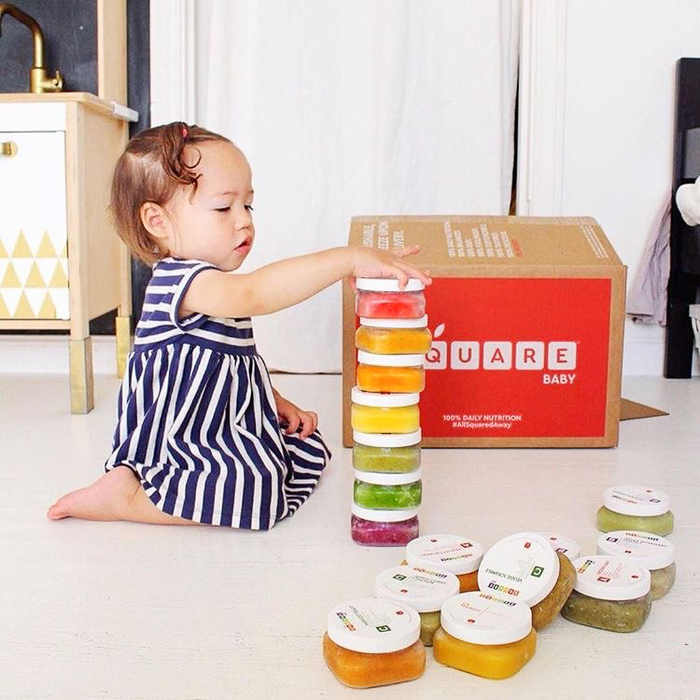 Square Baby organic baby food delivered right to your door | sponsor