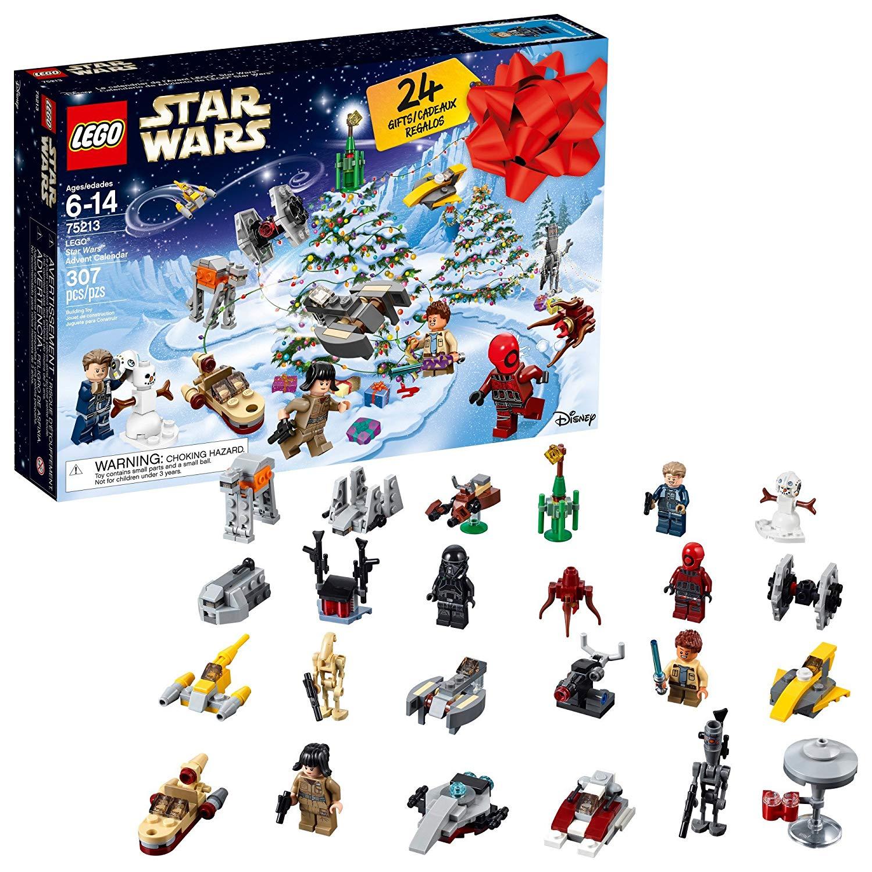Creative advent calendars for kids: LEGO Star Wars Advent calendar | Amazon