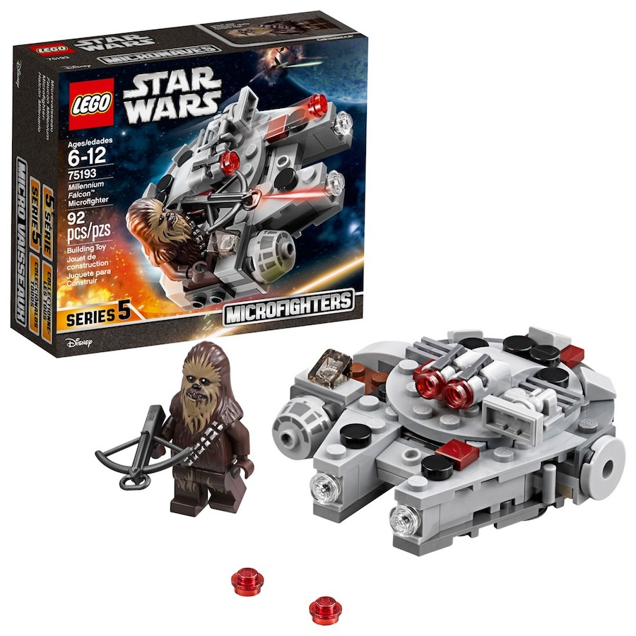 Cool kids' gifts under $15: LEGO Millennium Falcon set