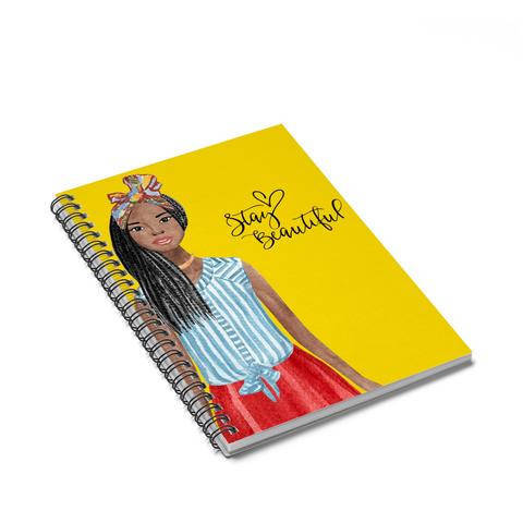 Cool kids' gifts under $15: Stay Beautiful Black Girl Journal