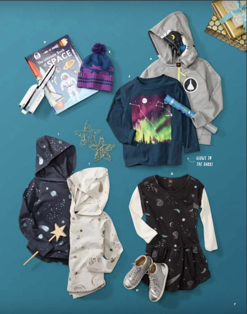 Tea Collection stargazers collection of cool clothes for kids