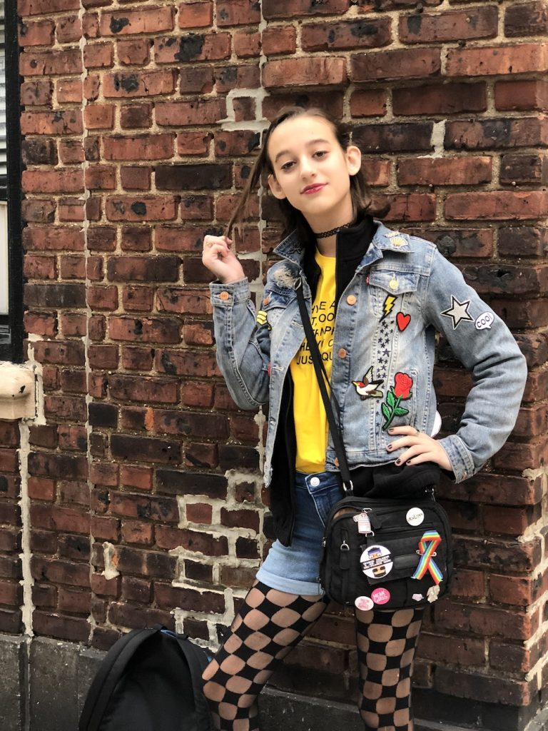 Janis Ian from Mean Girls: The best Halloween costumes on Garden Place Brooklyn, 2018 | © Cool Mom Picks