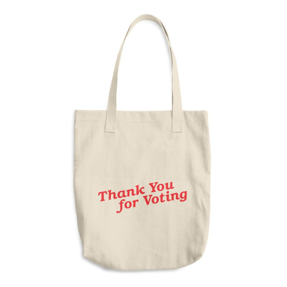 Thank you for voting tote from Vote. org