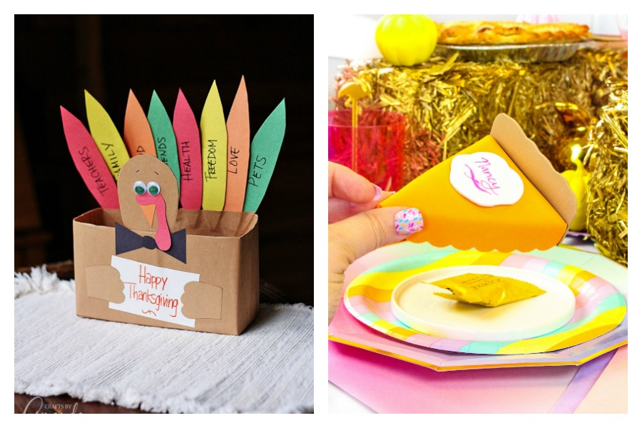 5 fun Thanksgiving crafts for kids that double as your Thanksgiving table decor