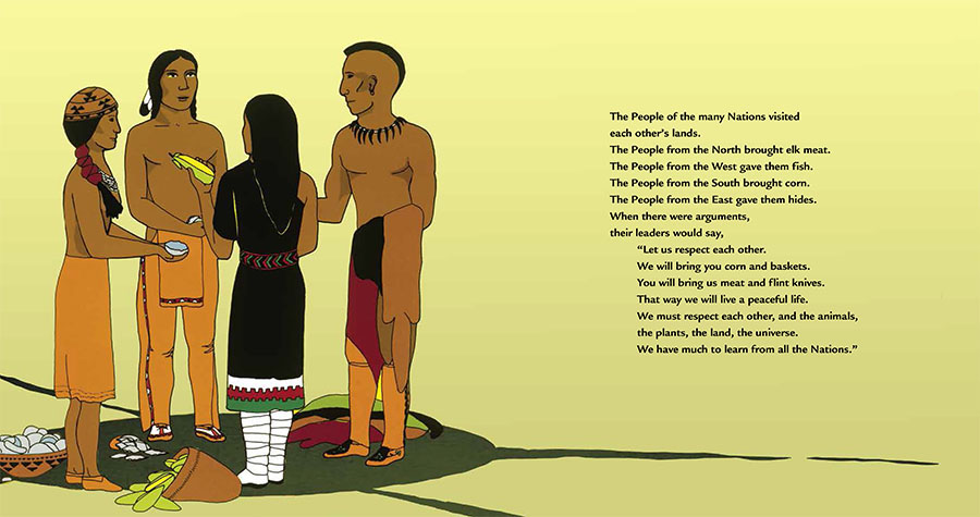 The People Shall Continue is an epic history of Native people in North America