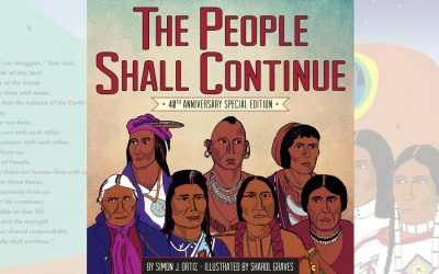 The People Shall Continue: a conversation-starting epic history of Native people for kids
