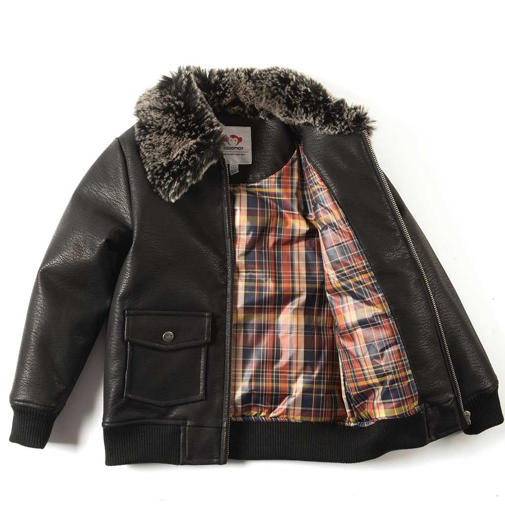 Cool gifts for tween boys (and girls): Appaman leather bomber jacket