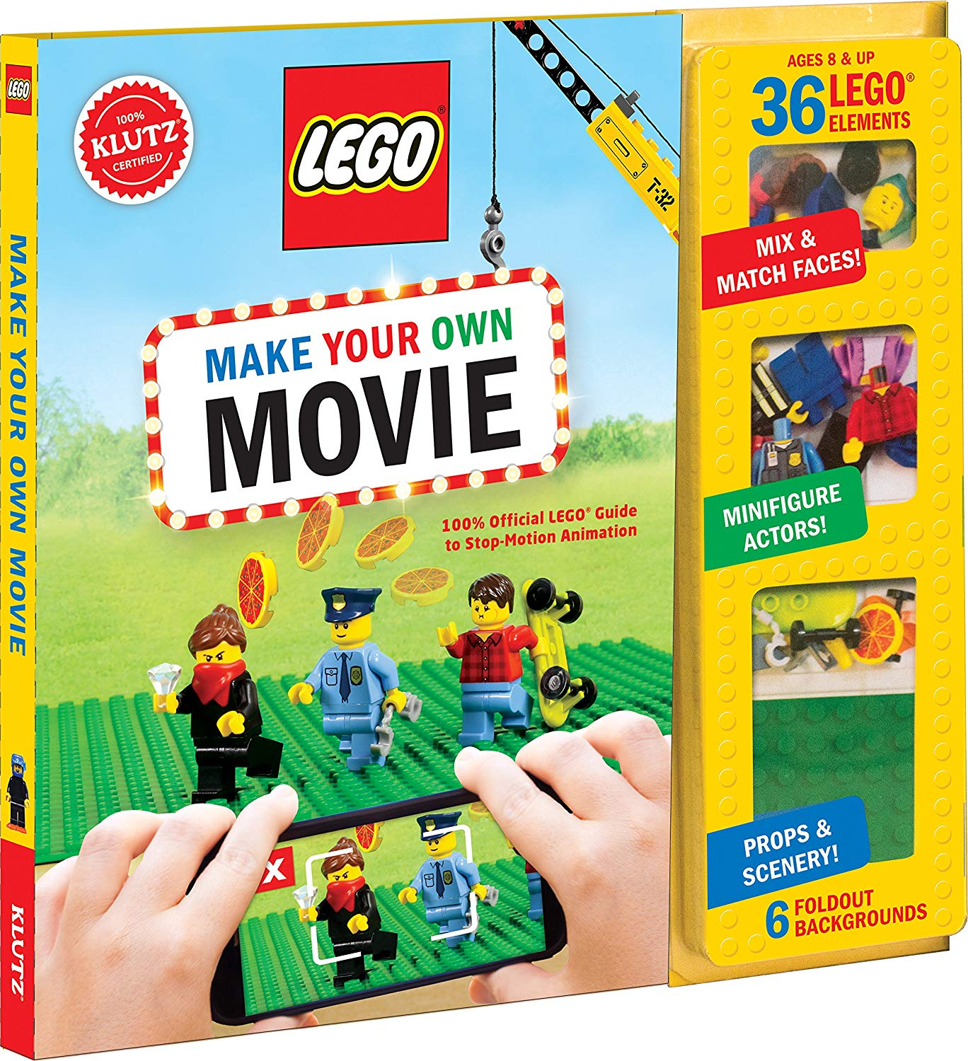 Cool gifts for tween boys (and girls): Klutz LEGO make your own movie kit